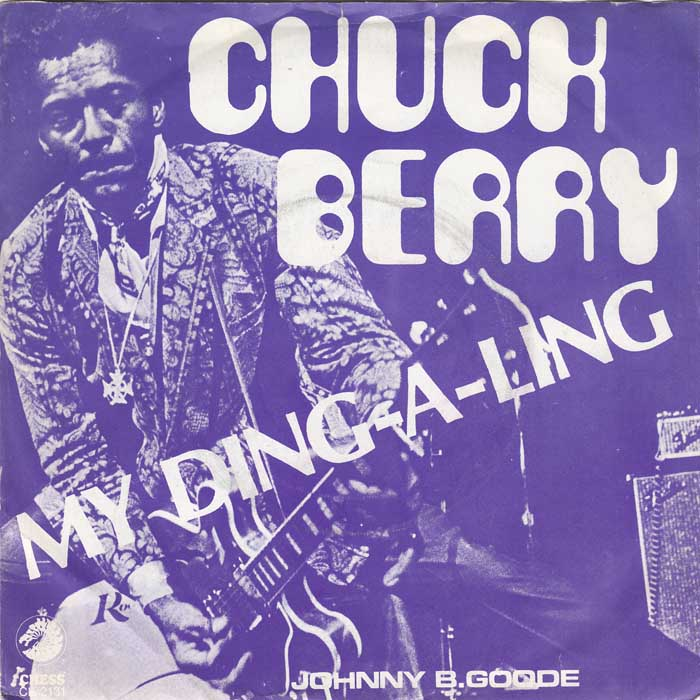 Chuck Berry - My Ding-A-Ling record cover