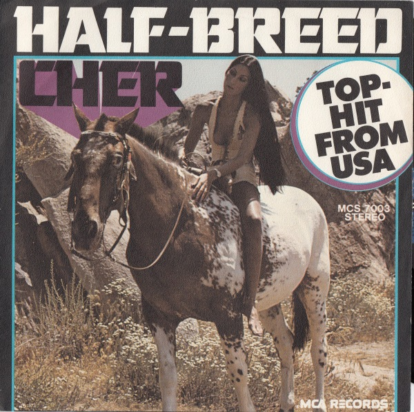 Cher - Half-Breed record cover