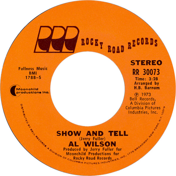 al-wilson-show-and-tell-1973-4