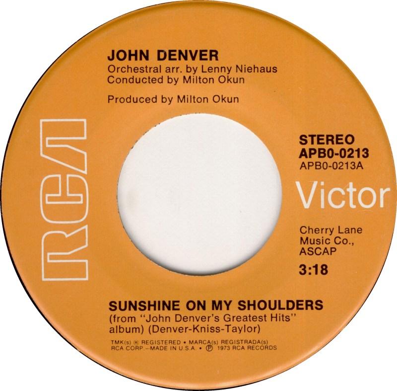 john-denver-sunshine-on-my-shoulders-rca-victor