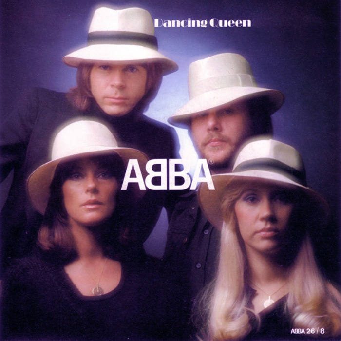 DANCING QUEEN - Abba record cover