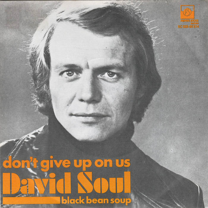DON'T GIVE UP ON US - David Soul record cover