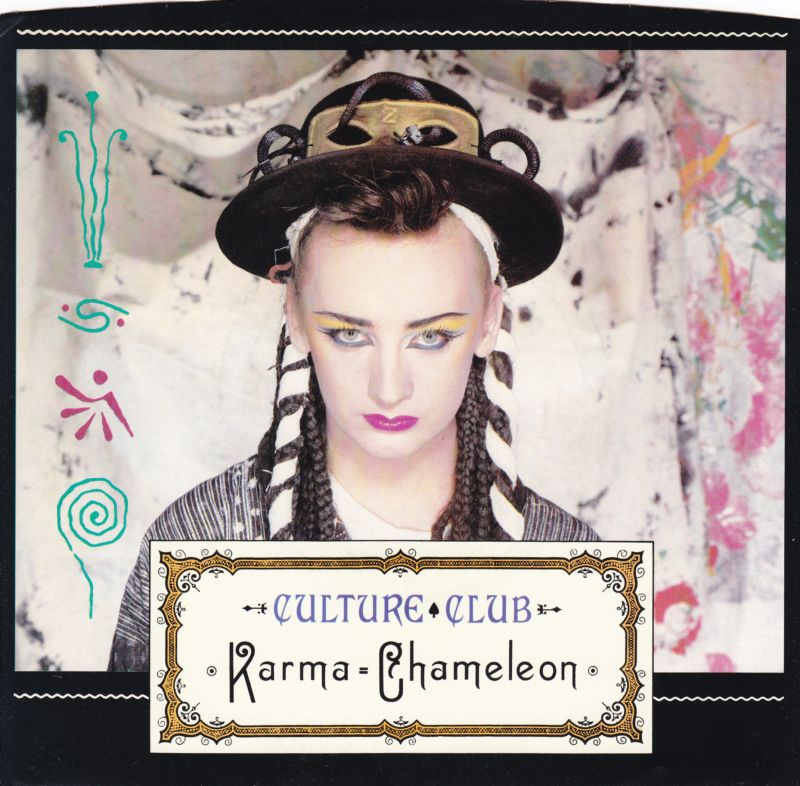 Culture Club Karma Chameleon record cover