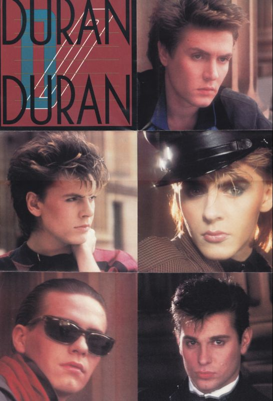 Duran Duran record cover