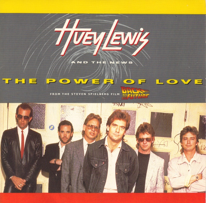 Huey Lewis and the News The Power of Love record cover 1985