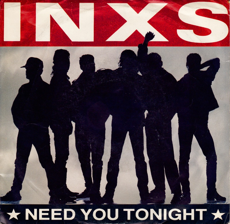 INXS Need You Tonight record cover 1987
