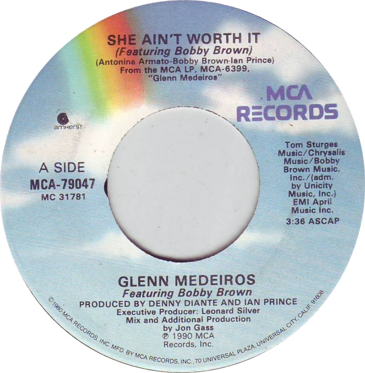 glenn-medeiros-featuring-bobby-brown-she-aint-worth-it-mca