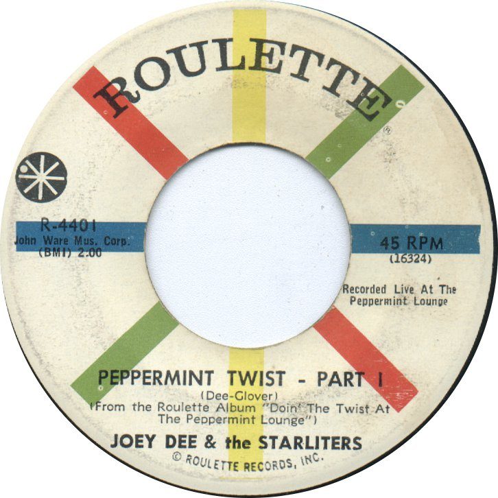 joey-dee-and-the-starliters-peppermint-twist-part-ii-roulette