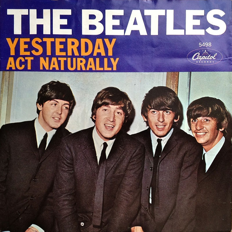 The Beatles - Yesterday record cover