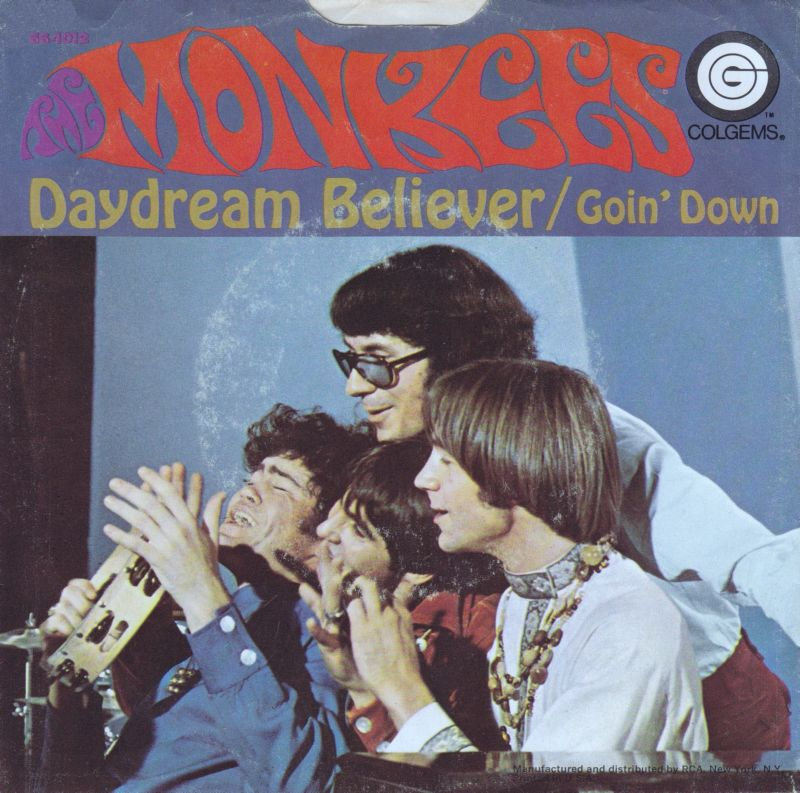 The Monkees - Daydream Believer record cover