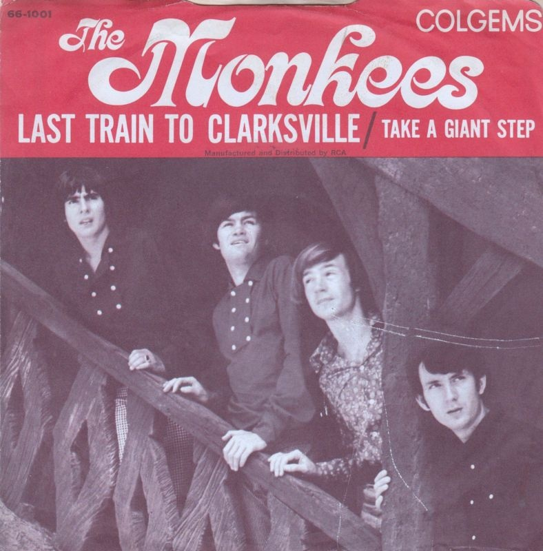 The Monkees - Last Train To Clarksville record cover