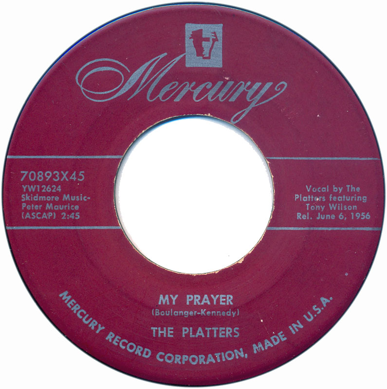 the-platters-my-prayer-1956-8