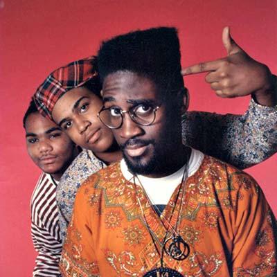 De La Soul band promo image circa 1989