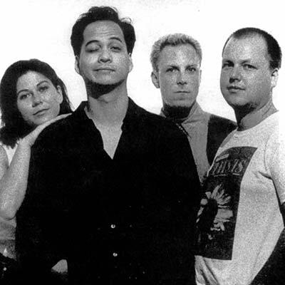 The Pixies band promo image circa 1980's