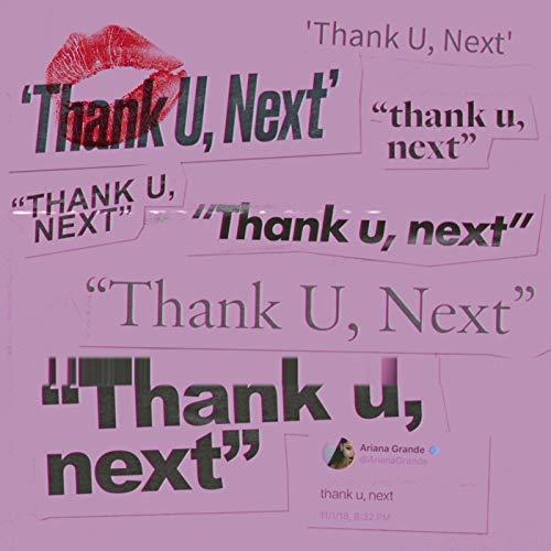Thank U, Next - Ariana Grande Album Cover