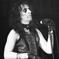 Vincent Damon Furnier of Alice Cooper circa 1972