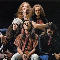Promo pic for Deep Purple's 1976 European tour