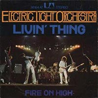 Electric Light Orchestra - Livin' Thing record cover