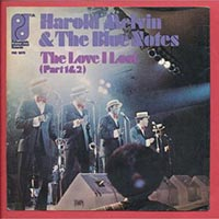 Harold Melvin & the Blue Notes - The Love I Lost record cover 1973