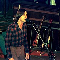 Jackson Browne performing 1976