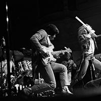 Jethro Tull performing in Hamburg, Germany 1973