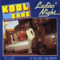 Kool and The Gang - Ladies Night record cover