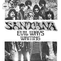 Santana - Evil Ways record over