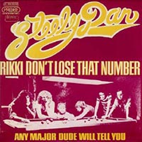Steely Dan - Rikki Don't Lose That Number record cover