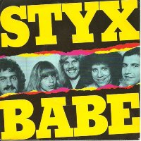Styx - Babe record cover 1979