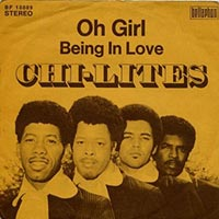 The Chi-Lites - Oh Girl record cover