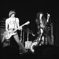 The Ramones performing at the New Yorker Theater in Toronto, 1976
