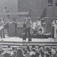 Van Halen playing a lunchtime concert at La Canada High School in circa late 1976