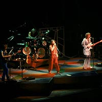 Yes on stage in Indianapolis August 1977
