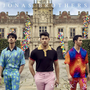 Sucker - Jonas Brothers record cover