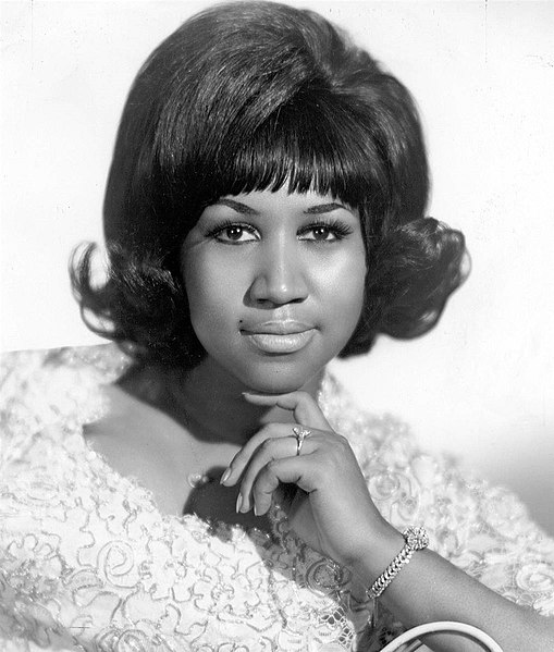 Aretha Franklin Billboard PR photo taken February 17th, 1968
