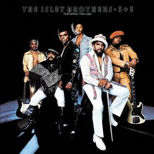 The Isley Brothers 3+3 album cover from 1973